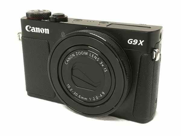【中古】 Canon powershot G9X mark2 コンパクト デジカメ Mark II カメラ 撮影 キヤノン 良好 W3891812