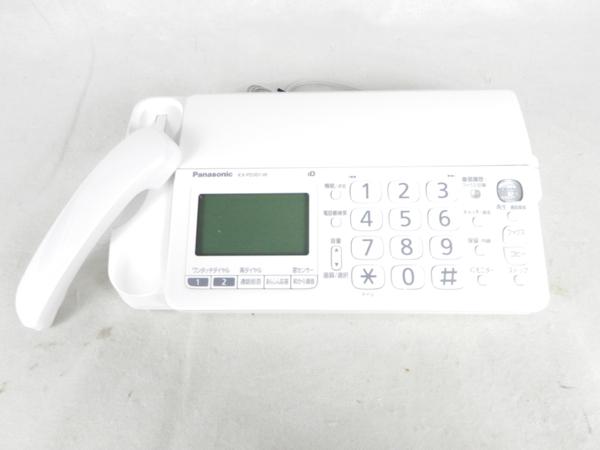 未使用 【中古】Panasonic KX-PD301DL-W デジタルコードレスFAX おたっくす 子機有 K3530534