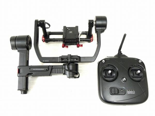 【中古】 DJI カメラ スタビライザー RONIN-M RM-6 3軸ジンバル 親指コントローラー 専用ケース セット 中古 O4240778