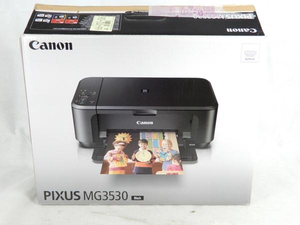 未使用 【中古】 Canon キヤノン PIXUS MG3530BK インクジェット複合機 ブラック K3528472