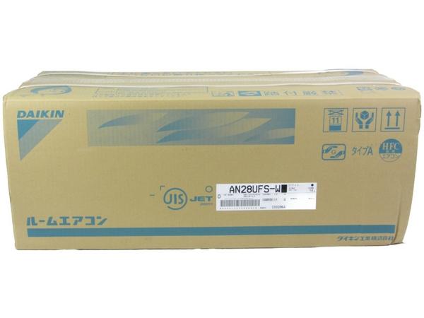 未使用 【中古】 ダイキン エアコン 室内機 10畳 AN28UFS 空調 冷房 暖房兼用 ホワイト N3938753