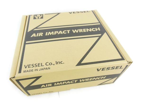 未使用 【中古】 VESSEL エアインパクトレンチ GT3900VP 工具 軽量 N2325995