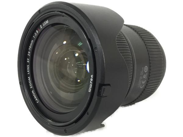 【中古】 Canon キャノン EF 24-70mm F2.8L II USM ズームレンズ カメラ N3875650