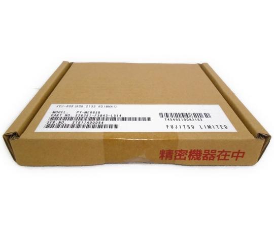 未使用 【中古】 FUJITSU サーバー用メモリ 8GB 2133RDIMM ×1PY-ME08SB N2375026