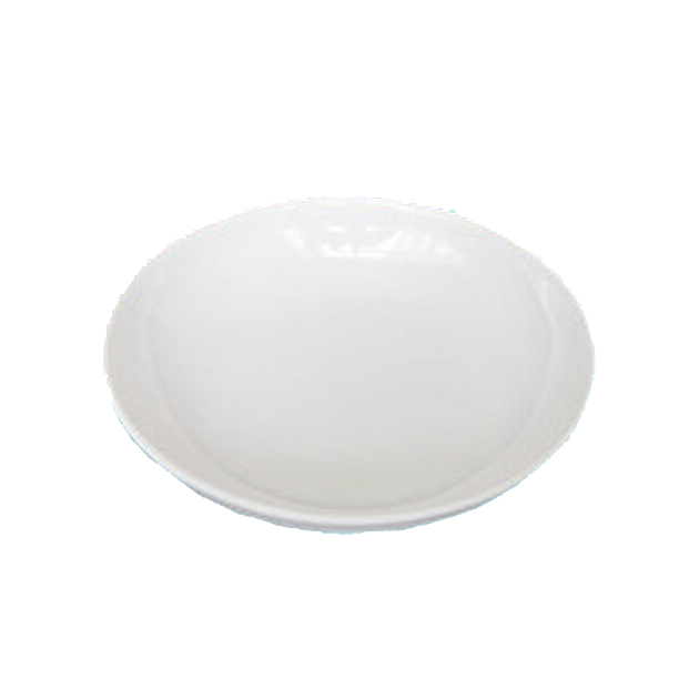 10個セット アウトレット☆送料無料 メラミン丸メタ皿 白 10cm SALENEW大人気