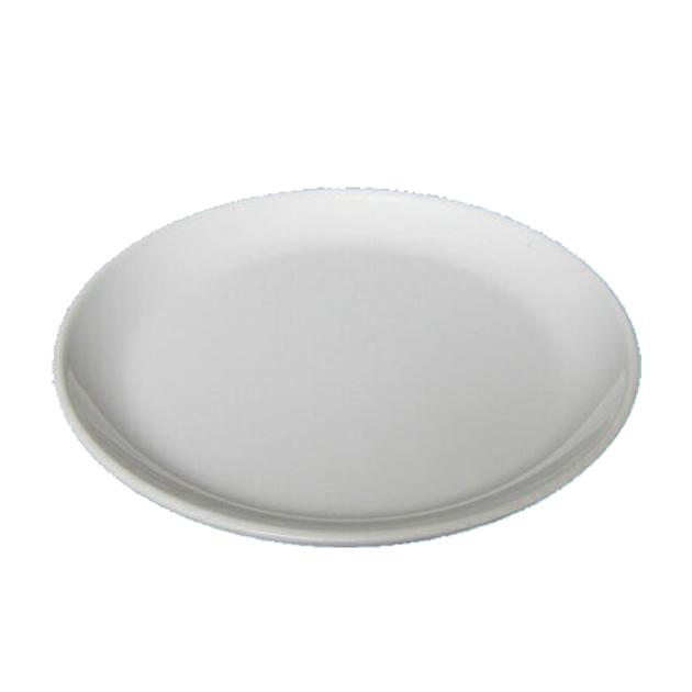 10個セット 通常便なら送料無料 メラミン丸皿 白 新作からSALEアイテム等お得な商品満載 17.5cm