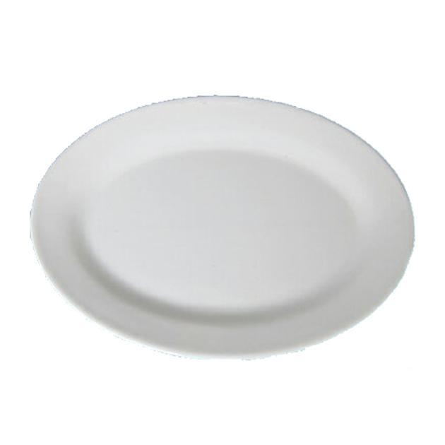 10個セット メラミン楕円皿 17.5 正規品送料無料 今だけスーパーセール限定 12.3cm 白