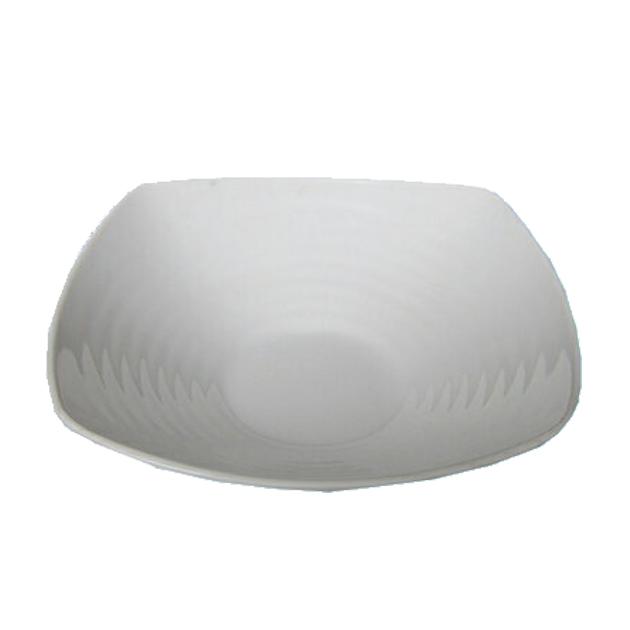 10個セット メラミン正角皿 10cm 買い取り 白 [並行輸入品]