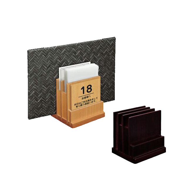 紙ナプキンとアンケート用紙など オールインワンでセットすることができます マルチメニューブックスタンド 期間限定今なら送料無料 舗
