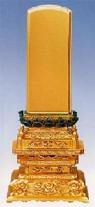 三年保証書付 七重座 彩色吹蓮華 札丈6.0寸(18cm)
