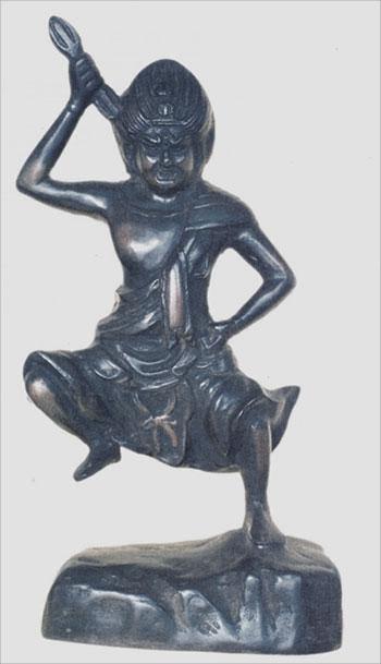 ☆密教 鋳造 蔵王大権現28.5cm 仏像