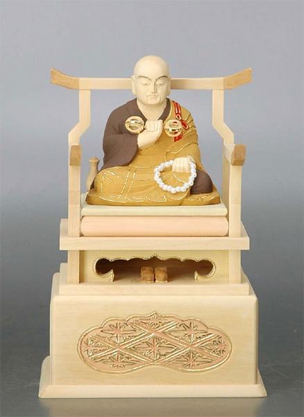 ☆柘植弘法大師6.0cm 仏像