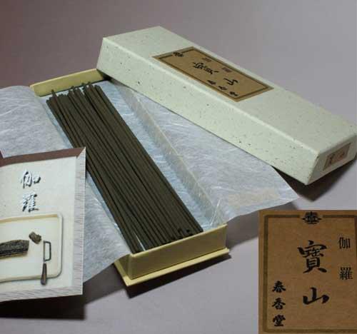 ☆伽羅線香【寶山】仏事・供養・進物