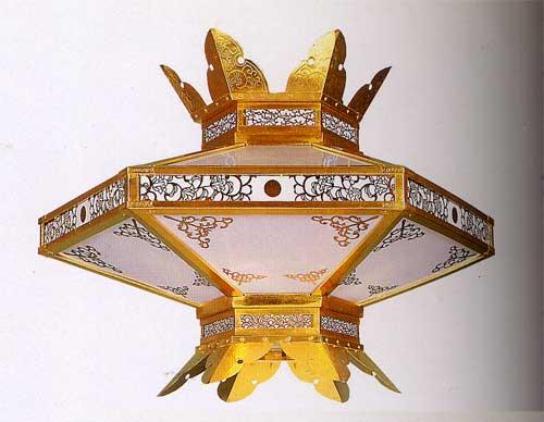 新六角菱灯籠75cm