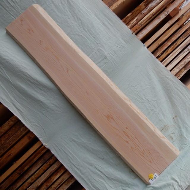 送料無料 あすなろ 翌桧 ひば 一枚板 1961 長さ150cm 幅25cm-27cm 厚み3.2cm 木材 銘木 天然木 無垢 板≪R02.01.20UP!!≫