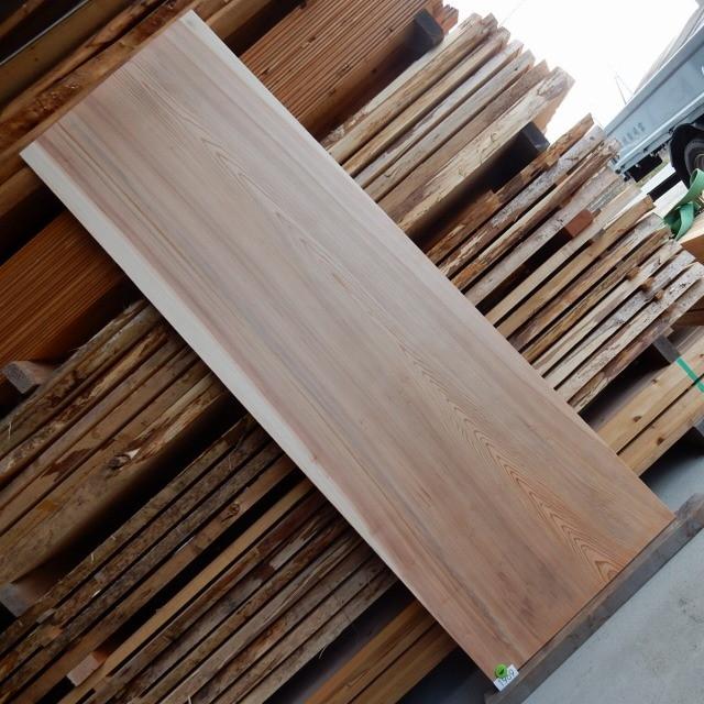 杉 一枚板 杉板 1969 長さ200cm 幅65.5cm 厚み1.7cm 木材 銘木 無垢 棚【送料無料♪ 】≪R02.02.05UP!!≫