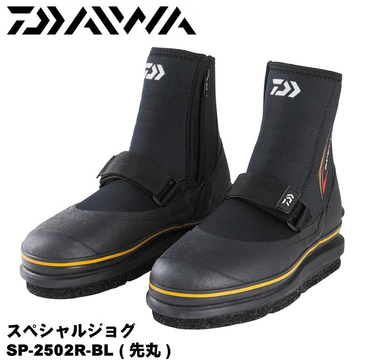 キュービックセンサーソールαを搭載 SPECIAL JOG  ダイワ/DAIWA SP-2502R-BL スペシャルジョグ (先丸) ブラック