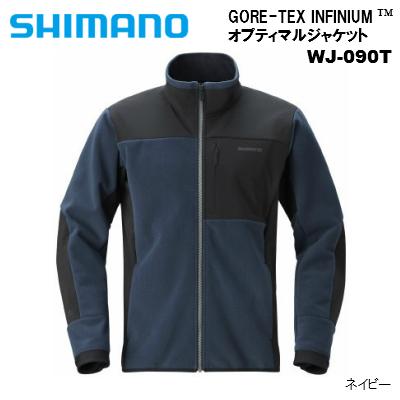 定番のGORE-TEX 25%OFF INFINIUM#8482;フリースが 更に軽量になって登場 特価品コーナー☆ 防風 透湿 撥水 ストレッチ ネイビーGORE-TEX SHIMANO INFINIUM#8482; S~XL WJ-090T シマノ オプティマルジャケット