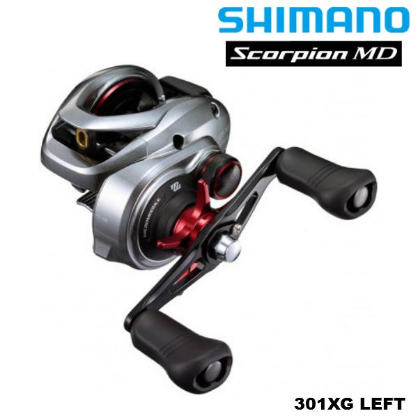 力と緻密さを兼ね備えた本気のウルトラストロング シマノ 予約販売 SHIMANO 21 スコーピオン 301XG 左ハンドル MD Scorpion 売店 LEFT