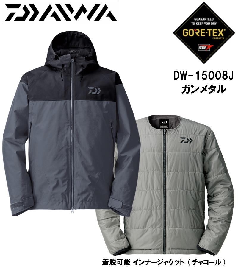 ダイワ/DAIWA DW-15008J (ゴアテックス プロダクト ウィンタージャケット) ガンメタル