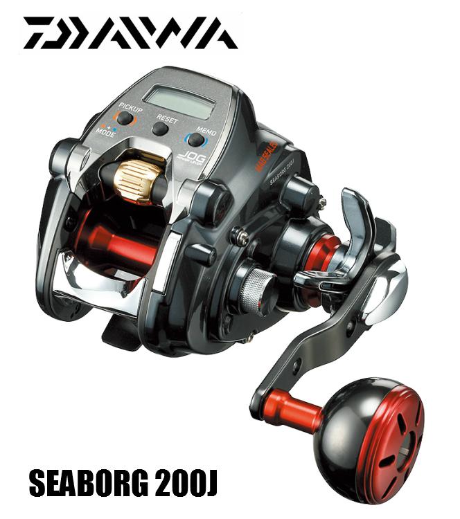 ダイワ/DAIWA SEABORG/シーボーグ 200J (右ハンドル) 2019yモデル 電動リール