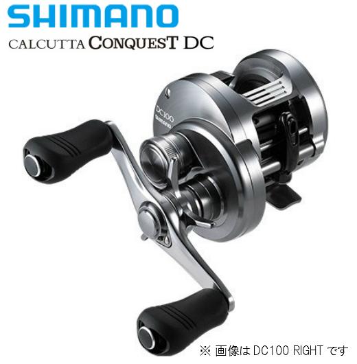 シマノ/SHIMANO 20 カルカッタ コンクエスト DC 100 HG RIGHT [CALCUTTA CONQUEST DC]右ハンドル