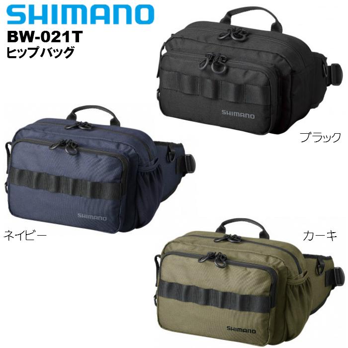 ロングウエストパッドで腰からズレにくいヒップバッグ シマノ SHIMANO 訳あり商品 BW-021T 10×29×17cm 1着でも送料無料 S ヒップバッグ