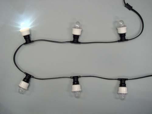 白色LEDストロボライト12球(防雨型)