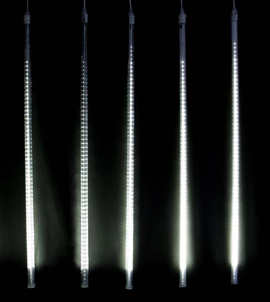 LED ドロップライト100cm/5連(100cmx5本)上から下へ自動点滅