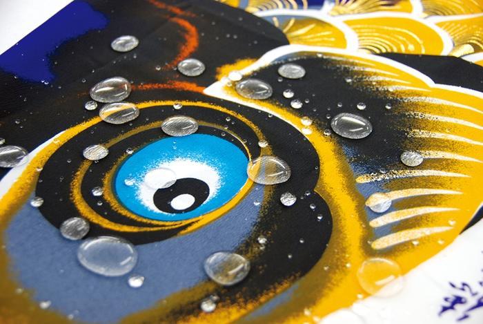単品鯉のぼり ちりめん京錦鯉 5m(徳永鯉)鯉のぼり 鯉幟