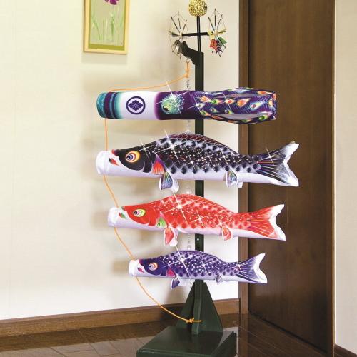 【子守唄CDプレゼント】室内飾り 星歌スパンコールセット (こいのぼり 室内)(徳永鯉)鯉のぼり 鯉幟