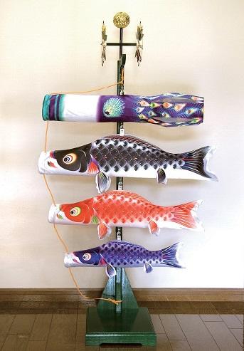 【子守唄CDプレゼント】室内飾り 星歌友禅セット(室内用こいのぼり)鯉のぼり 鯉幟
