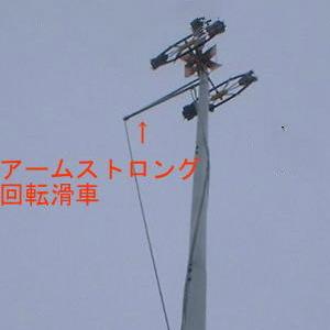 【エントリーでP10倍】10号(4~5m鯉のぼり用)こいのぼりポール チャンネル抗 10号(10m)アルミポール(張り綱不要)鯉のぼり 鯉幟