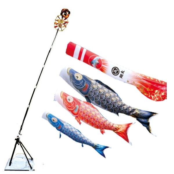 【子守唄CDプレゼント】真・太陽2mプレミアムスタンドセット(こいのぼり)(徳永鯉)鯉のぼり 鯉幟