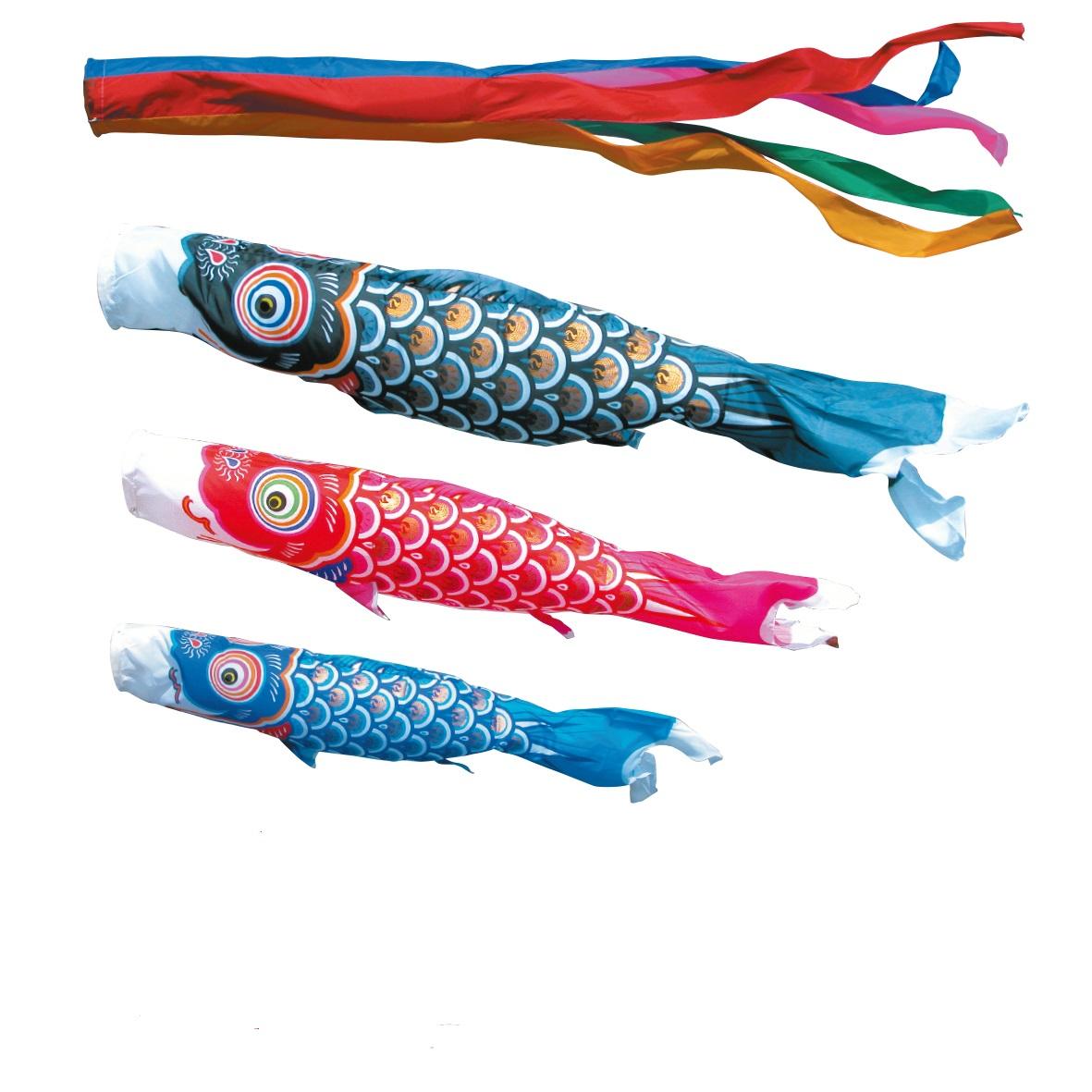 【子守唄CDプレゼント】庭園用 こいのぼりゴールド鯉5m6点セット(こいのぼり)(徳永鯉)鯉のぼり 鯉幟