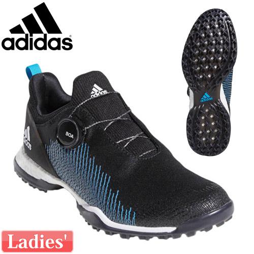 adidas [アディダス] フォージファイバー ボア BTF19 レディース ゴルフシューズ BB7853 (2E/EE)