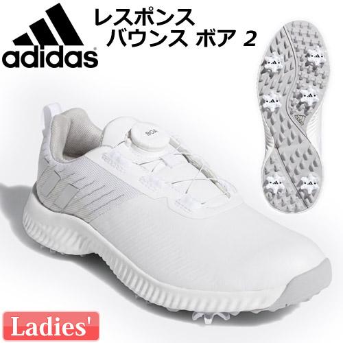adidas [アディダス] レディース レスポンス バウンス ボア 2 FBA90 ゴルフシューズ EF2010