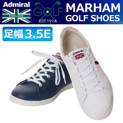 【週末限定ポイント20倍】 Admiral GOLF [アドミラル ゴルフ] MARHAM [マーハム] ソフトスパイク ゴルフシューズ ADMS7S