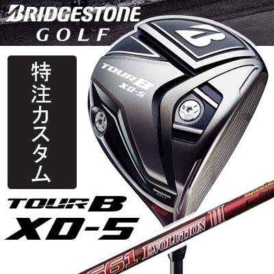 [メーカーカスタムクラブ]BRIDGESTONE GOLF [ブリヂストン ゴルフ] TOUR B XD-5 ドライバー Speeder EVOLUTION III カーボンシャフト