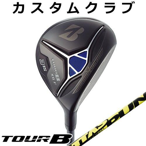 【メーカーカスタム】BRIDGESTONE GOLF [ブリヂストン ゴルフ] TOUR B XD-F 2018 フェアウェイウッド ATTAS PUNCH カーボンシャフト