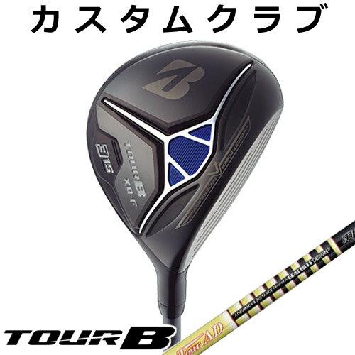 【メーカーカスタム】BRIDGESTONE GOLF [ブリヂストン ゴルフ] TOUR B XD-F 2018 フェアウェイウッド TourAD MJ カーボンシャフト