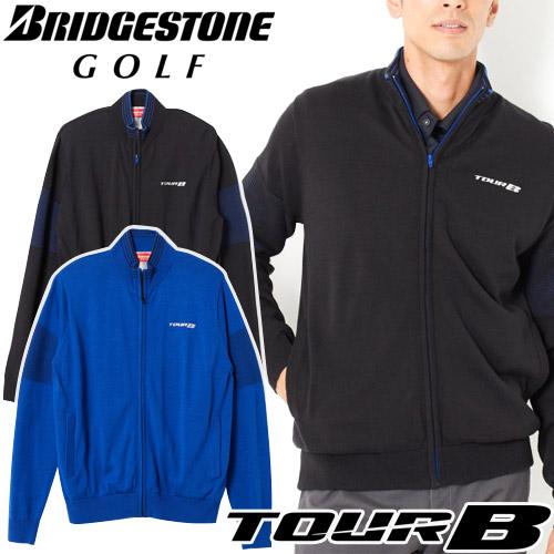 BRIDGESTONE GOLF [ブリヂストン ゴルフ] TOUR B 18 AW 防風前開きセーター メンズ 6GKT1B