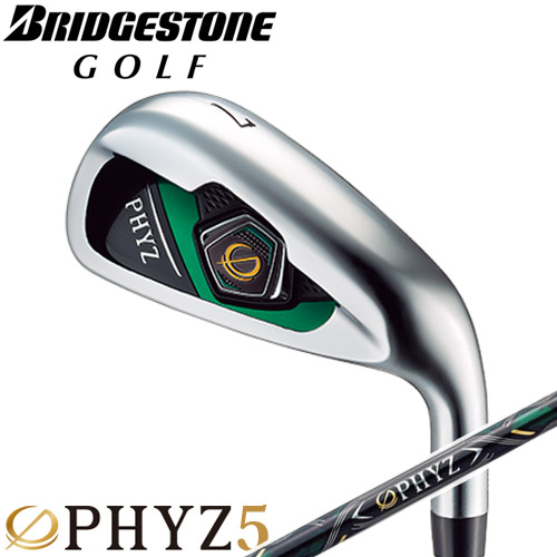 BRIDGESTONE GOLF [ブリヂストン ゴルフ] PHYZ 5 [ファイズ 5] 2019 アイアン 5本セット(#7~10、PW) PZ-509I カーボンシャフト