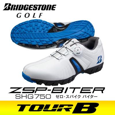 BRIDGESTONE GOLF [ブリヂストン ゴルフ] ゼロ・スパイク バイター メンズ スパイクレス シューズ SHG750 WB