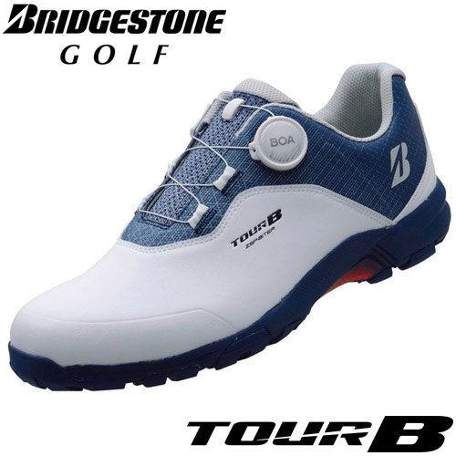 BRIDGESTONE GOLF [ブリヂストン ゴルフ] TOUR B ゼロ・スパイク バイター ライトモデル ゴルフシューズ SHG950 WN