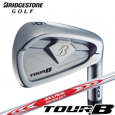 BRIDGESTONE GOLF [ブリヂストン ゴルフ] TOUR B X-CB 2018 アイアン 6本セット(#5~PW) N.S.PRO MODUS3 TOUR 105 スチールシャフト