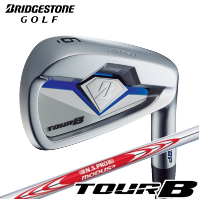 BRIDGESTONE GOLF [ブリヂストン ゴルフ] TOUR B X-CBP 2018 アイアン 6本セット(#5~PW) N.S.PRO MODUS3 TOUR 105 スチールシャフト