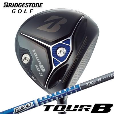 BRIDGESTONE GOLF [ブリヂストン ゴルフ] TOUR B XD-3 2018 ドライバー Tour AD TX2-6 カーボンシャフト