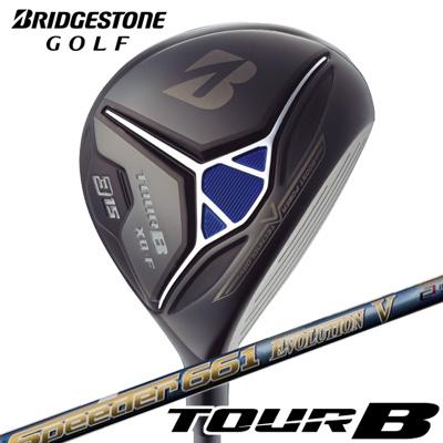 BRIDGESTONE GOLF [ブリヂストン ゴルフ] TOUR B XD-F 2018 フェアウェイウッド Speeder 661 EVOLUTION V カーボンシャフト