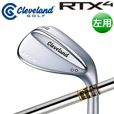 Cleveland GOLF [クリーブランド] RTX4 【左用】 ツアーサテン ウェッジ ダイナミックゴールド スチールシャフト [日本正規品]